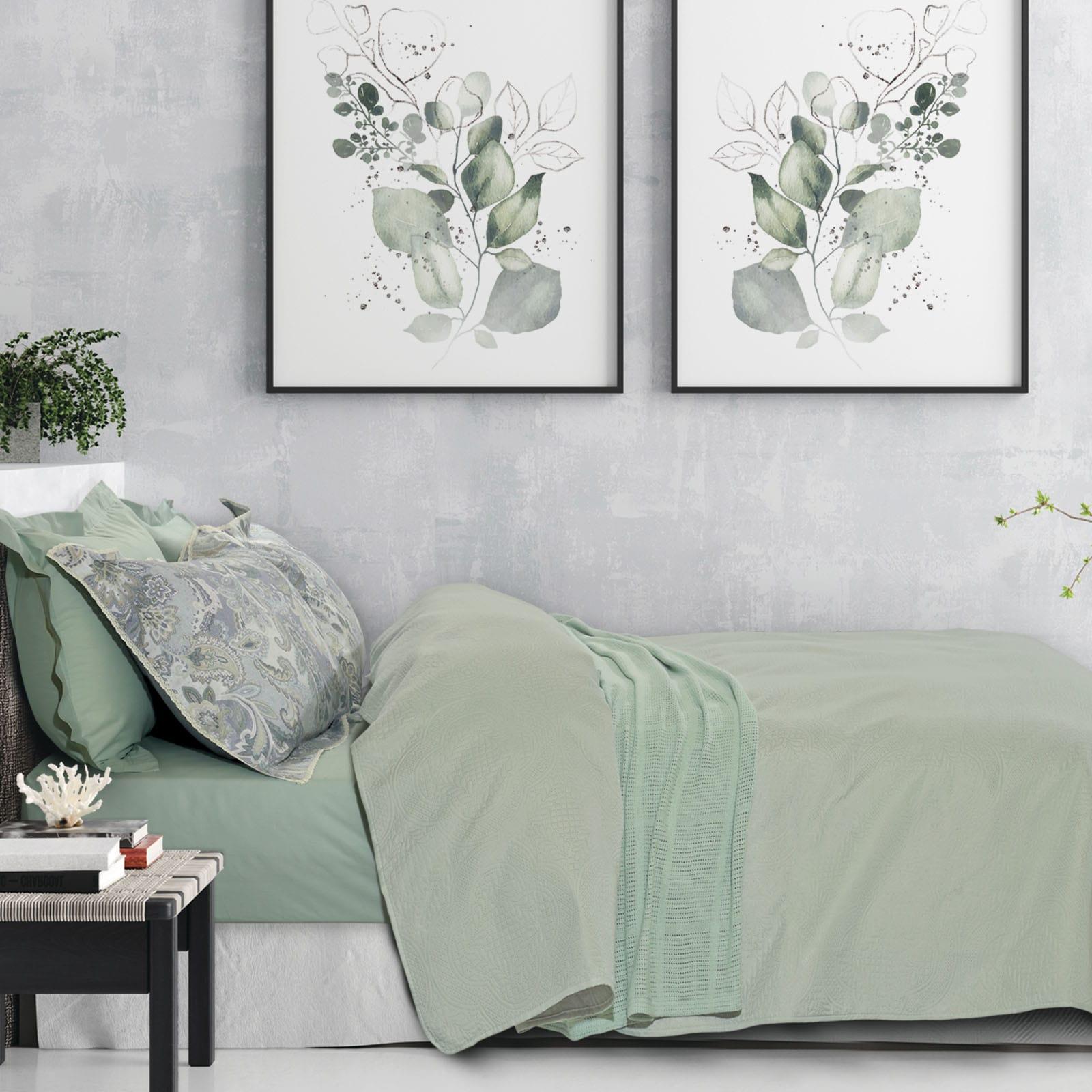 Κουβερλί 9484 Happy Olive Das Home Μονό 160x240cm