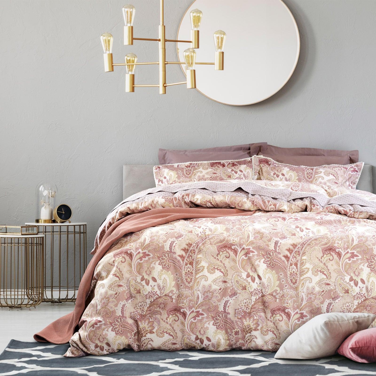 Σεντόνια Σετ 4τμχ 1620 Prestige Nude-Pink Das Home Υπέρδιπλo 230x260cm