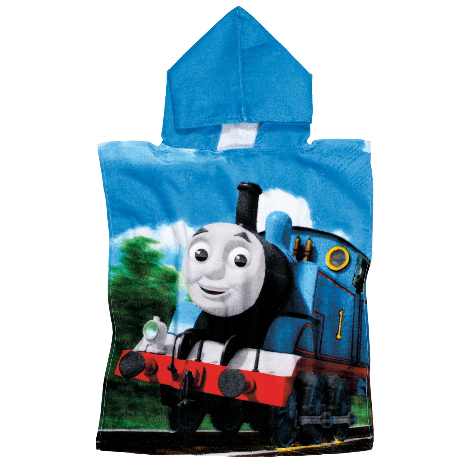 Πόντσο Θαλάσσης 5841 50Χ115 Thomas & Friends Light Blue-Green Cartoon Kids 0-2 ετών 50x115cm
