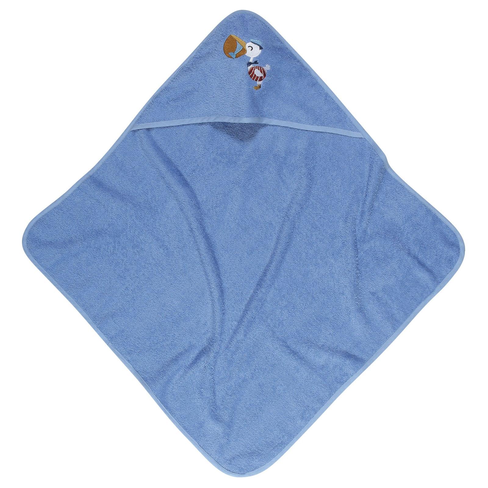 Κάπα Βρεφική Κεντητή 6582 Baby Smile Blue Das Baby 0-2 ετών One Size