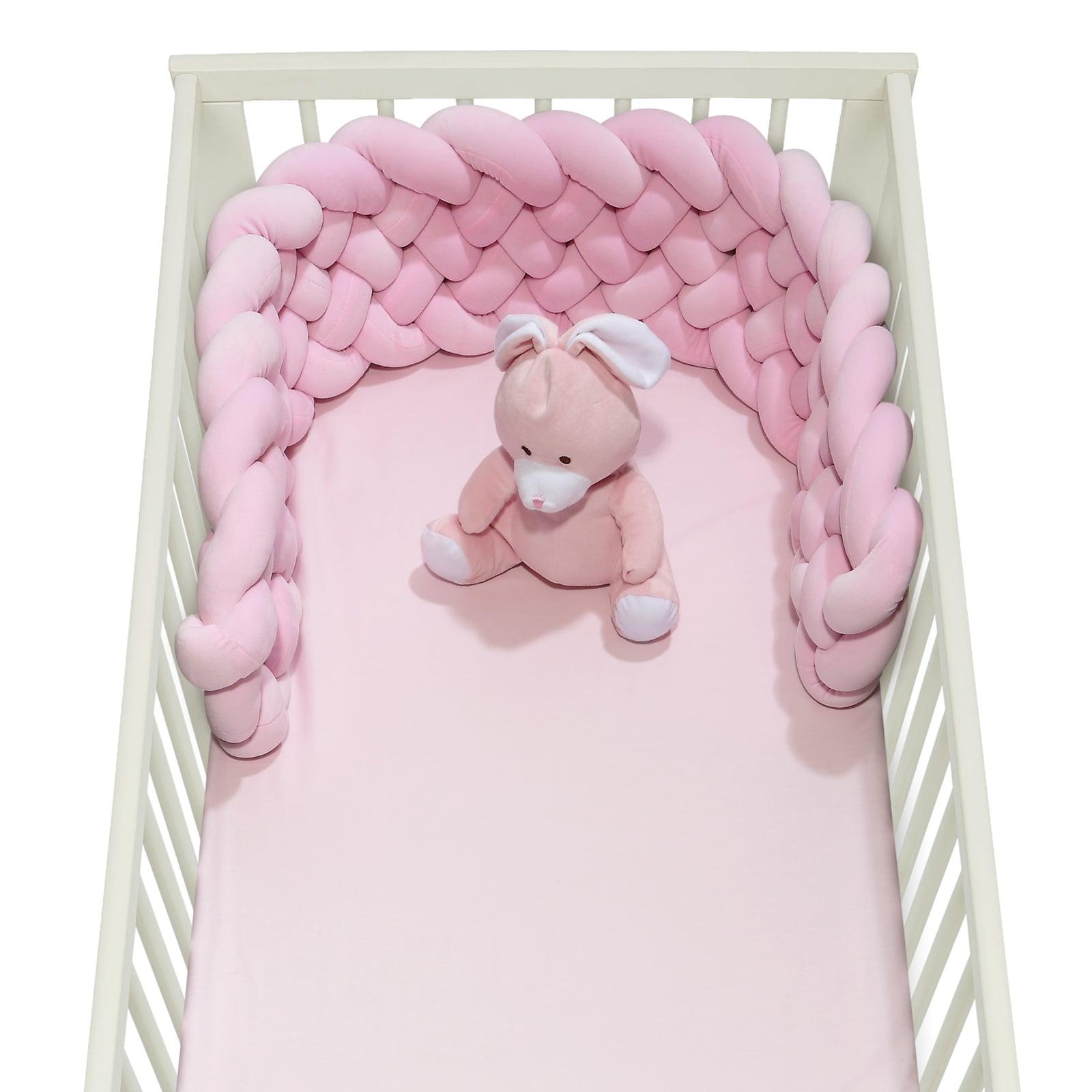 Πάντα Βρεφική Πλεξούδα 6584 Baby Relax – Pink Das Baby 25x150cm
