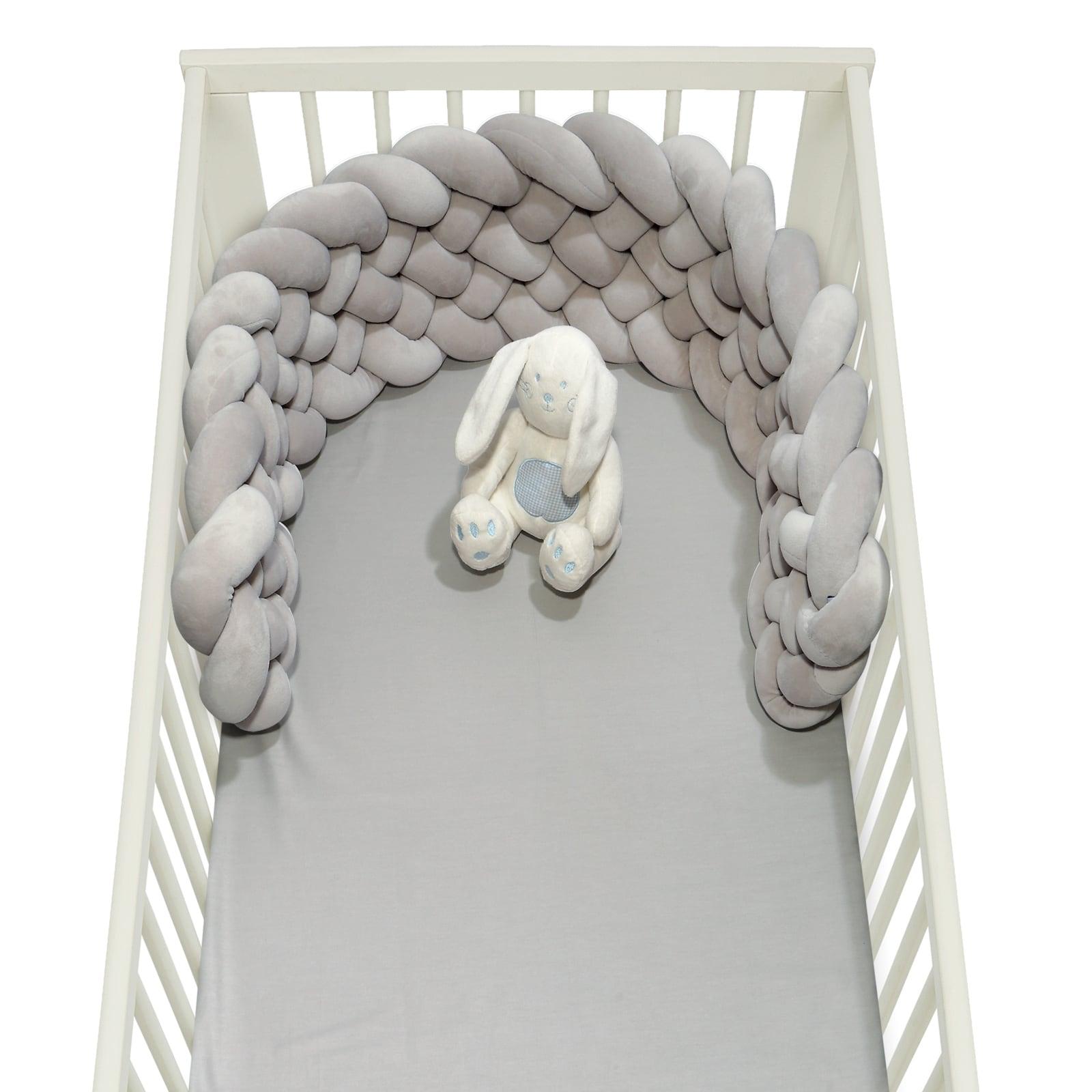 Πάντα Βρεφική Πλεξούδα 6585 Baby Relax – Grey Das Baby 25x150cm