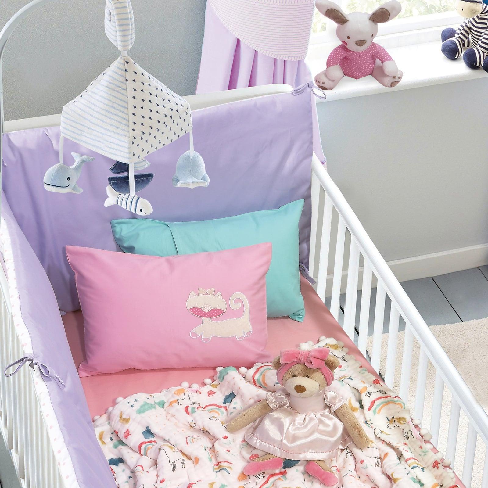 Κουβέρτα Βρεφική Μουσελίνα 6587 Relax Multi Das Baby Κούνιας 110x140cm