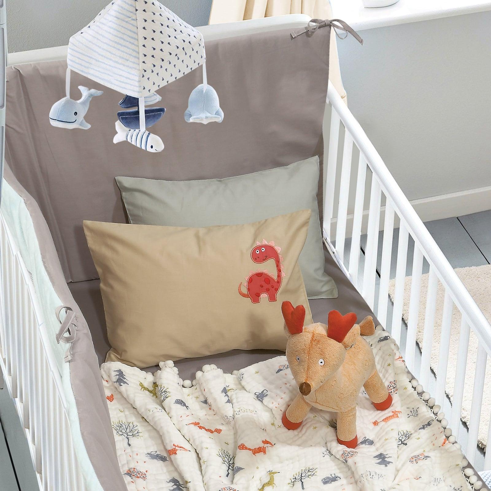 Κουβέρτα Βρεφική Μουσελίνα 6589 Relax Multi Das Baby Κούνιας 110x140cm