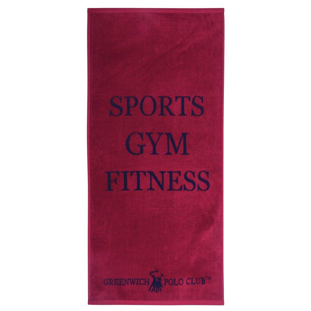 Πετσέτα Γυμναστηρίου 2558 Red-Blue G.P.C. Γυμναστηρίου 45x90cm