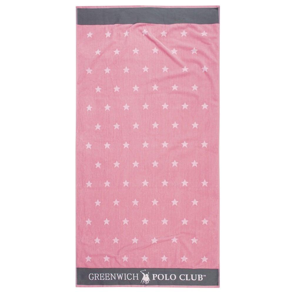 Πετσέτα Θαλάσσης 2874 Pink-Grey G.P.C. Θαλάσσης 90x170cm