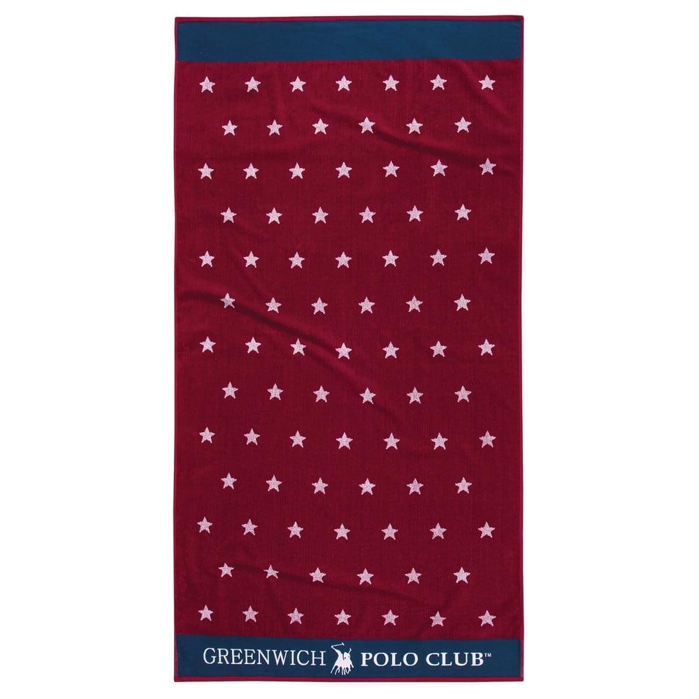 Πετσέτα Θαλάσσης 2875 Red-Blue G.P.C. Θαλάσσης 90x170cm