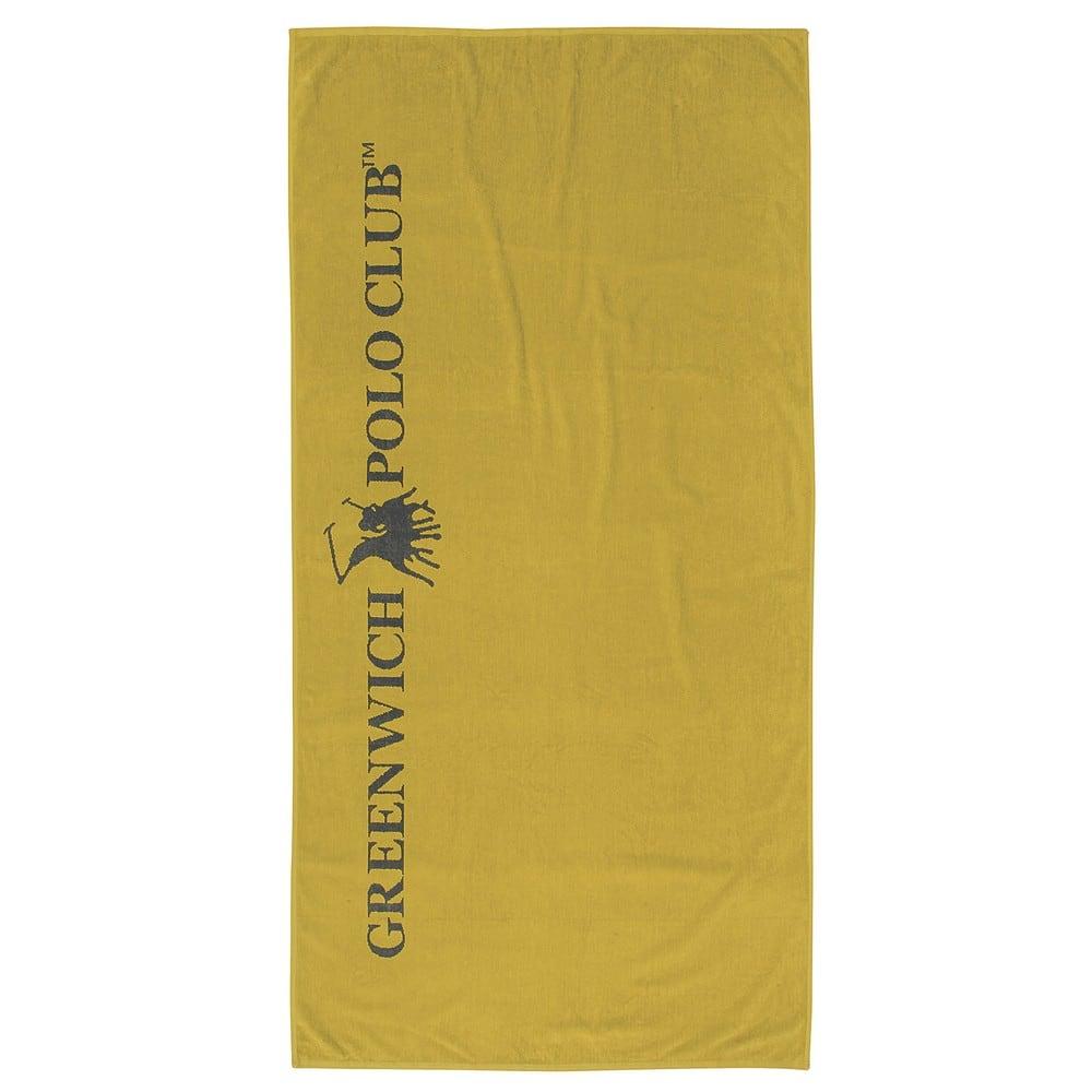 Πετσέτα Θαλάσσης 3522 Olive-Grey G.P.C. Θαλάσσης 90x170cm