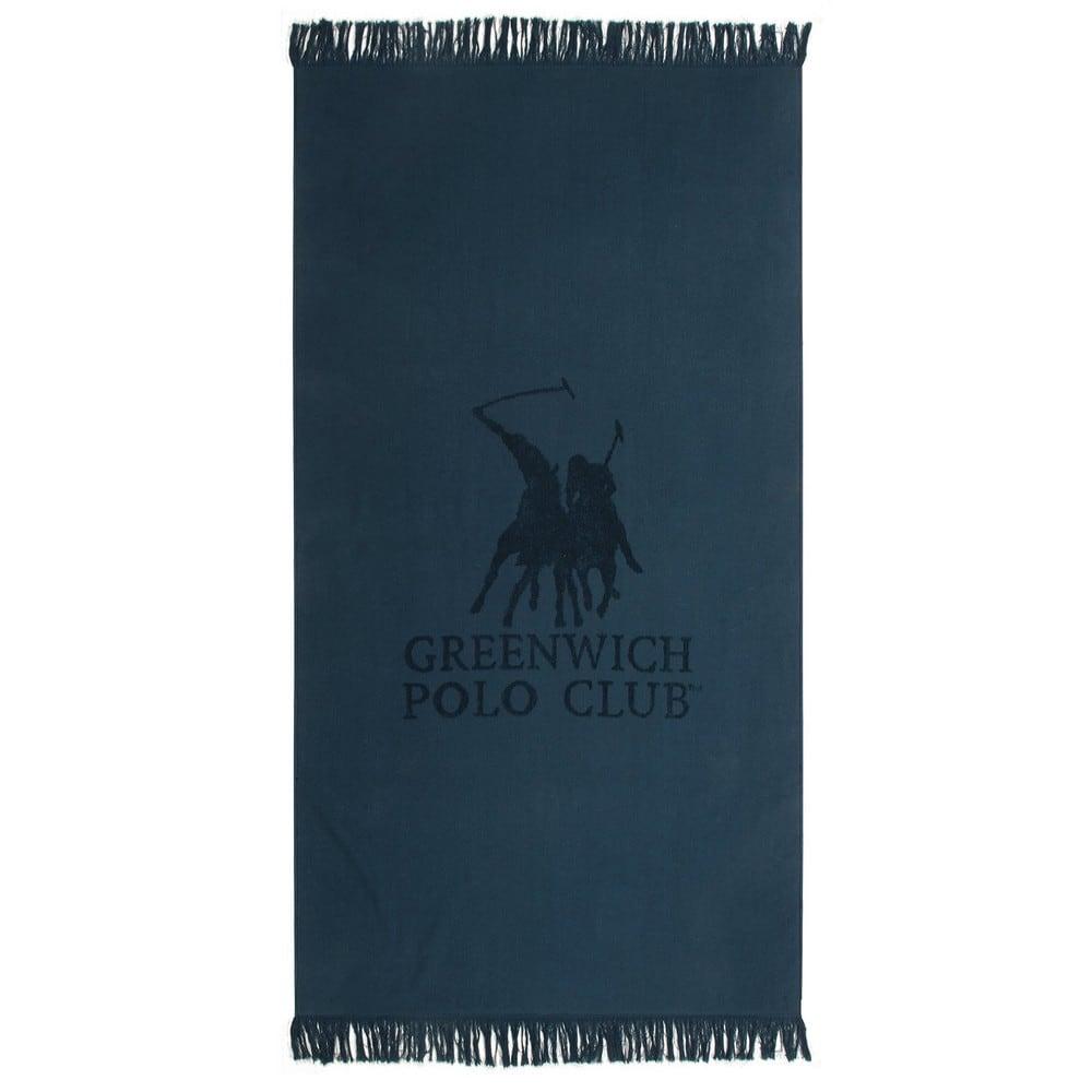 Πετσέτα Θαλάσσης 3527 Blue G.P.C. Θαλάσσης 80x170cm