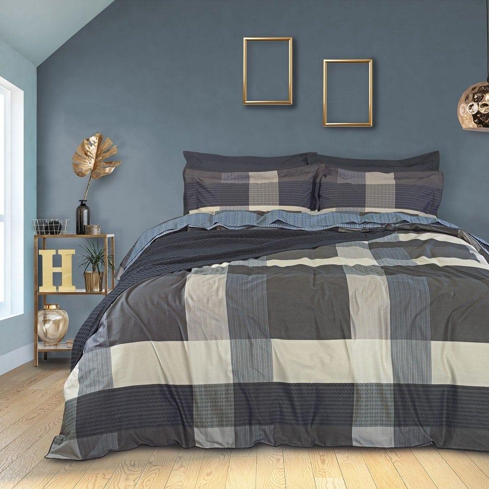 Πάπλωμα 1627 Prestige Cream-Grey-Black Das Home Υπέρδιπλo 220x240cm