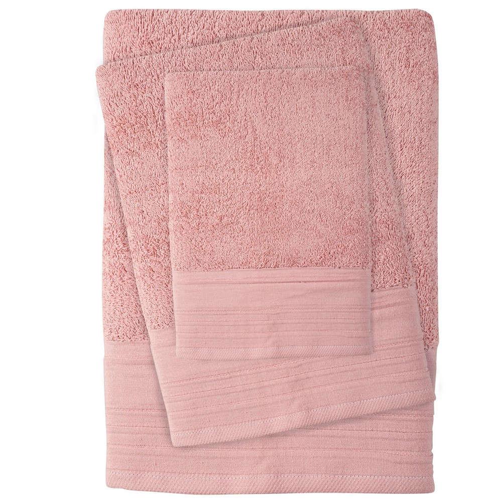 Πετσέτες Σετ 3τμχ 0431 Best Nude Das Home Σετ Πετσέτες 70x140cm