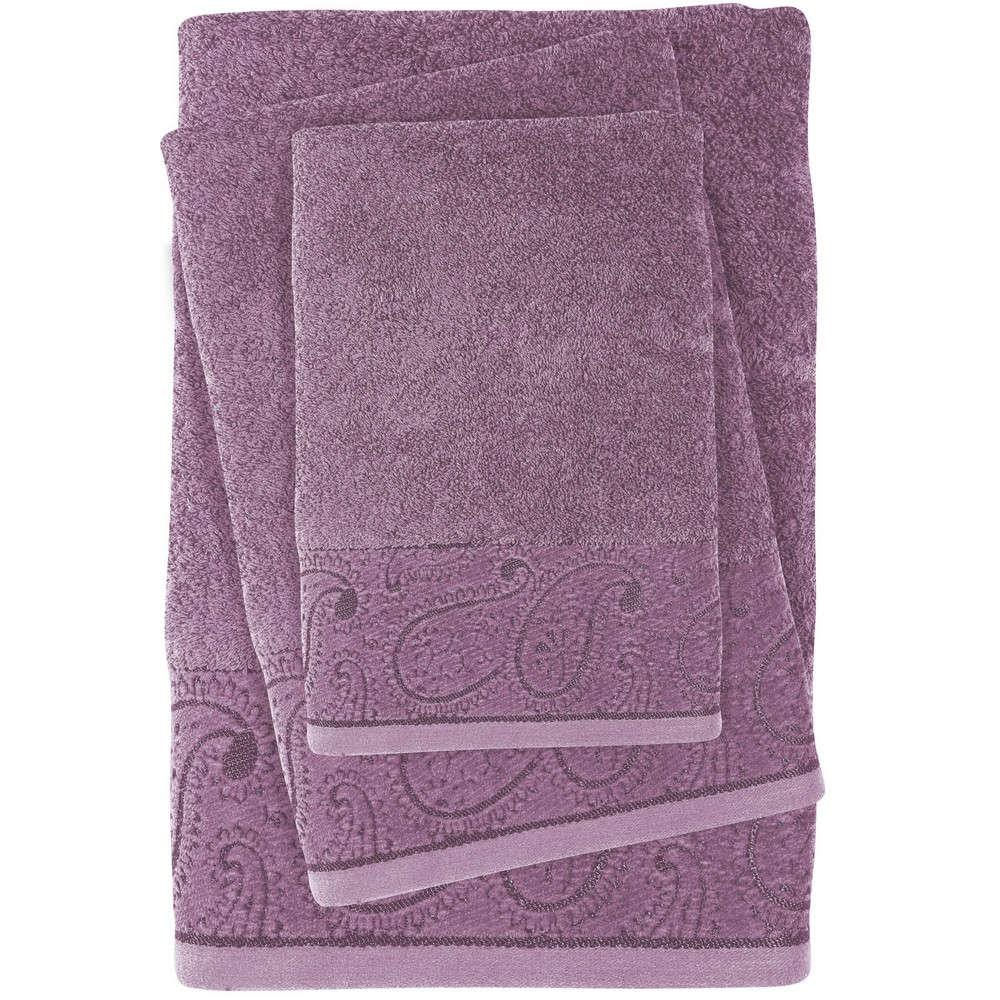 Πετσέτες Σετ 3τμχ 0437 Daily Light Purple Das Home Σετ Πετσέτες 70x140cm