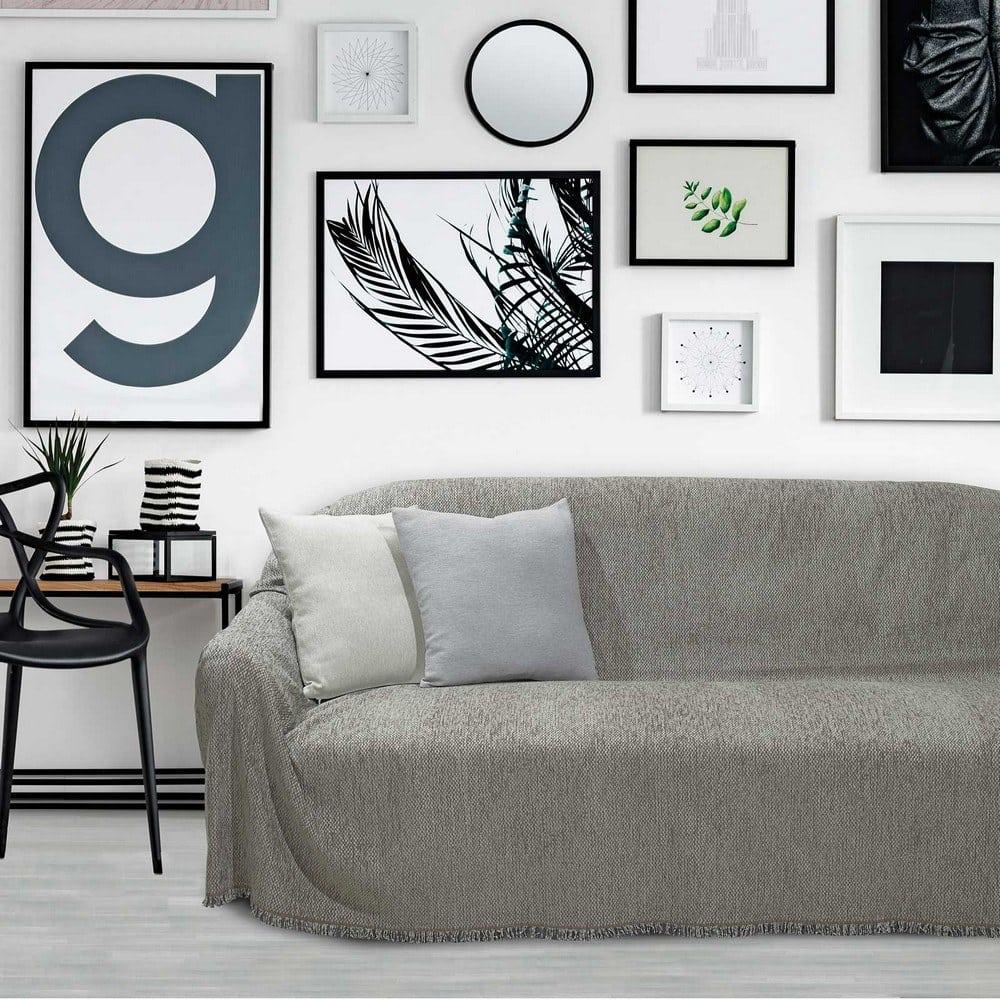 Ριχτάρι 0201 Light Grey Das Home Διθέσιο 180x250cm