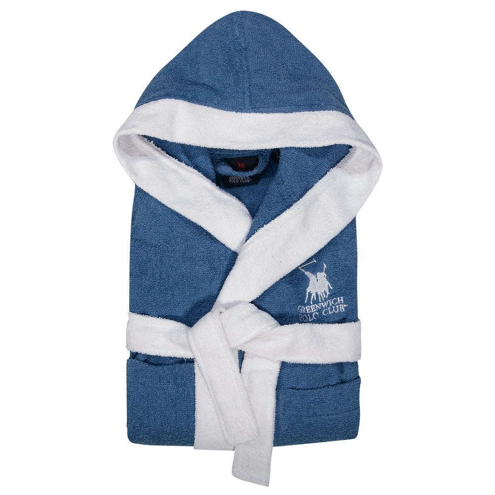 Μπουρνούζι Παιδικό 8606 Blue G.P.C. 8-10 ετών No. 8-10