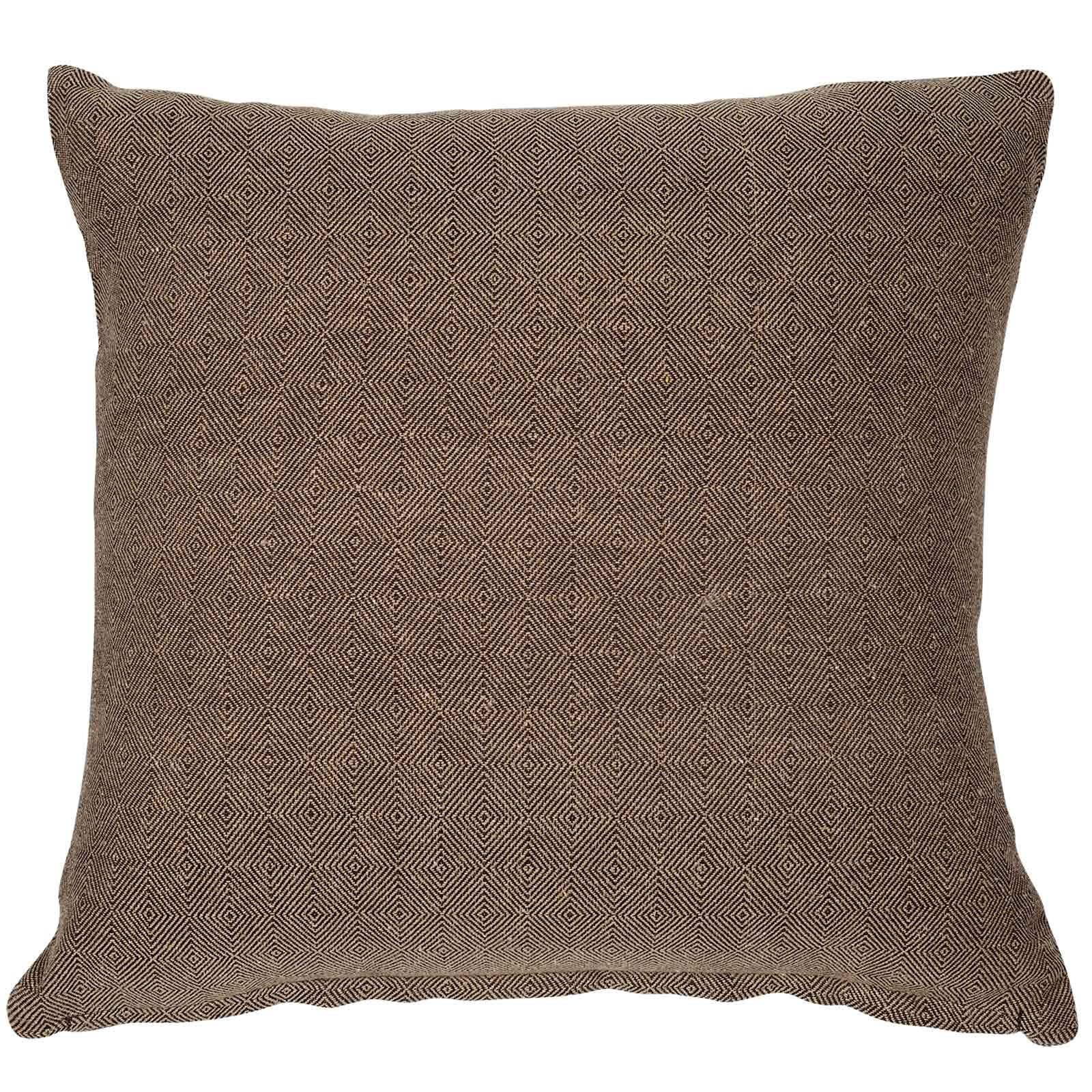 Μαξιλάρι Διακοσμητικό (Με Γέμιση) 0212 Ocher Das Home 40Χ40 Βαμβάκι-Polyester