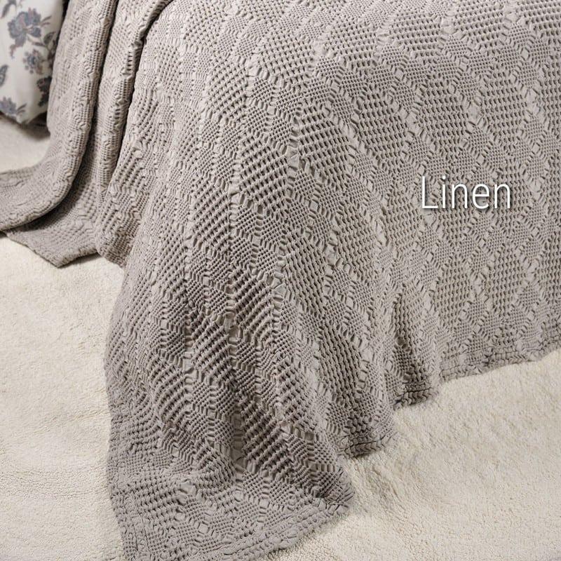 Κουβέρτα ΣΧ.538 Dream Linen Down Town Μονό 170x240cm
