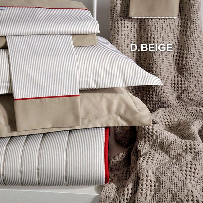 Κουβέρτα ΣΧ.871 D.Beige Down Town Υπέρδιπλo 230x260cm
