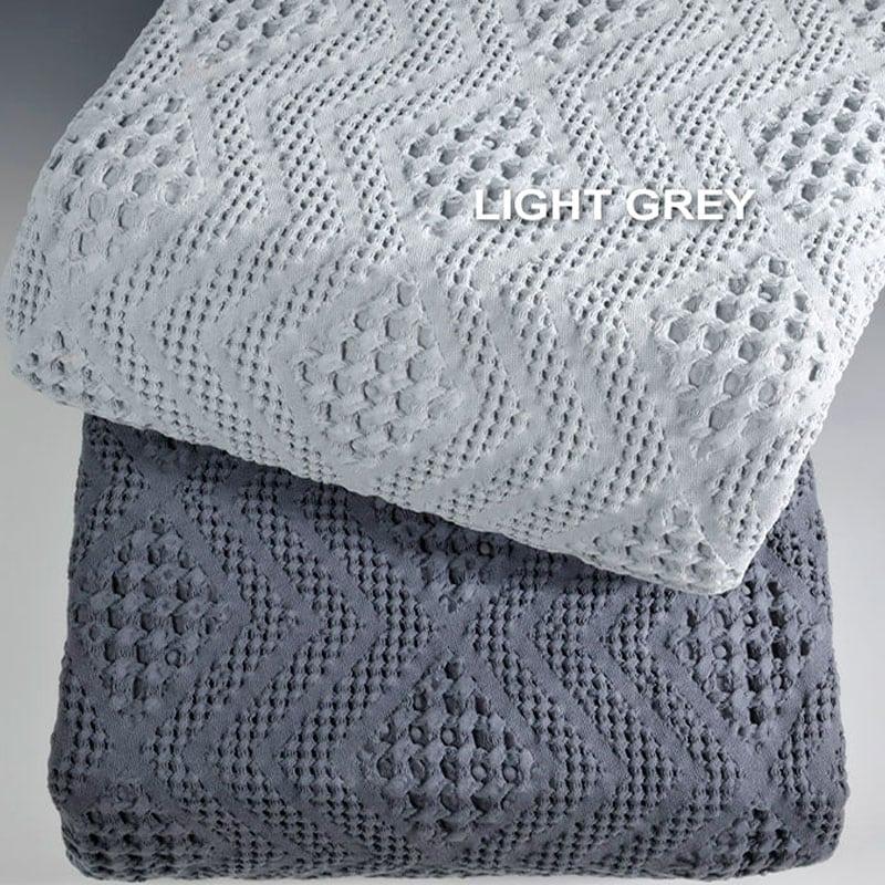 Κουβέρτα ΣΧ.871 L.Grey Down Town Υπέρδιπλo 230x260cm