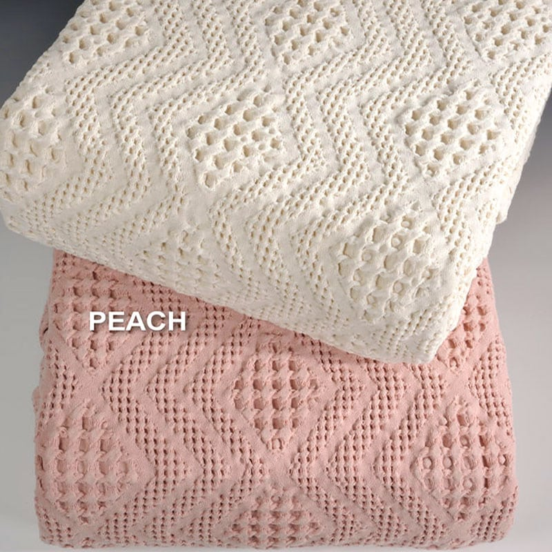Κουβέρτα ΣΧ.871 Peach Down Town Υπέρδιπλo 230x260cm