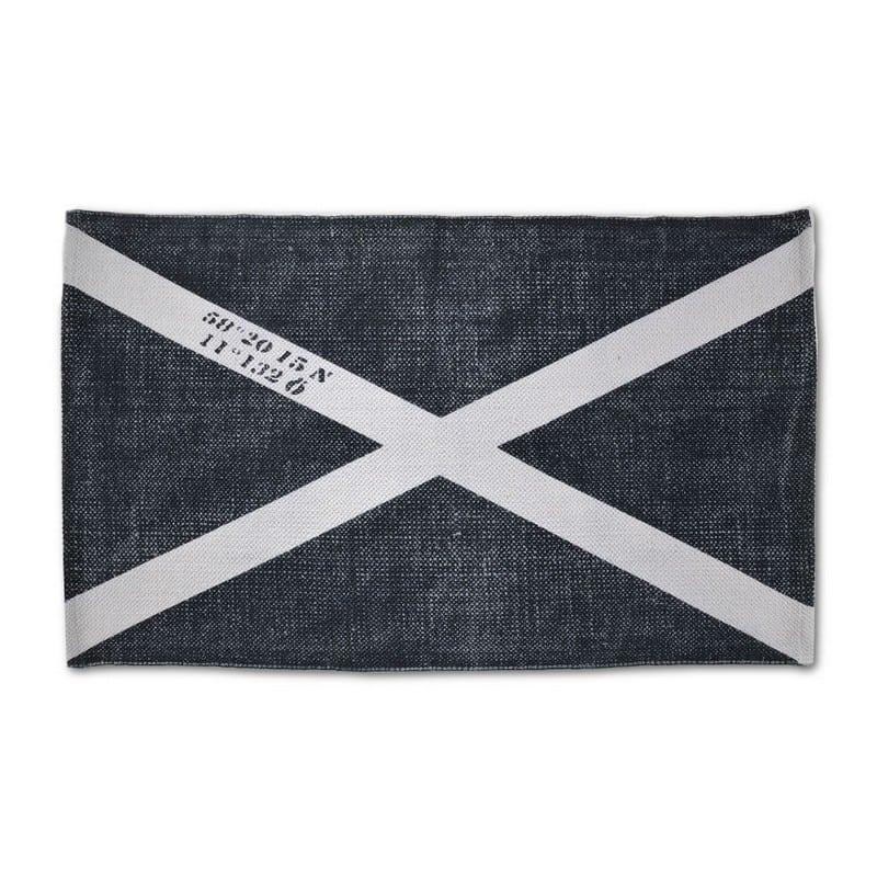 Πατάκι Μπάνιου Indigo Flag Anthracite Down Town X-Large