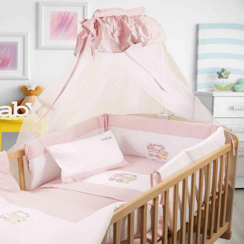 Πάπλωμα Βρεφικό My Angel 09 Λευκό-Ροζ DimCol 100x140cm