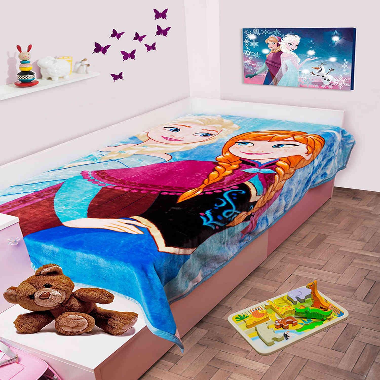 Κουβέρτα Παιδική Disney Frozen 501 Digital Print DimCol Μονό 160x220cm