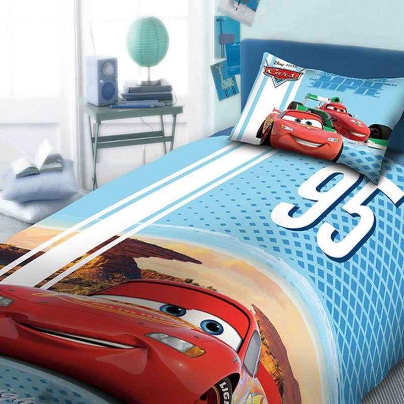 Σεντόνια Παιδικά Σετ 3τεμ Disney Cars 973 Digital Print DimCol Μονό 165x245cm