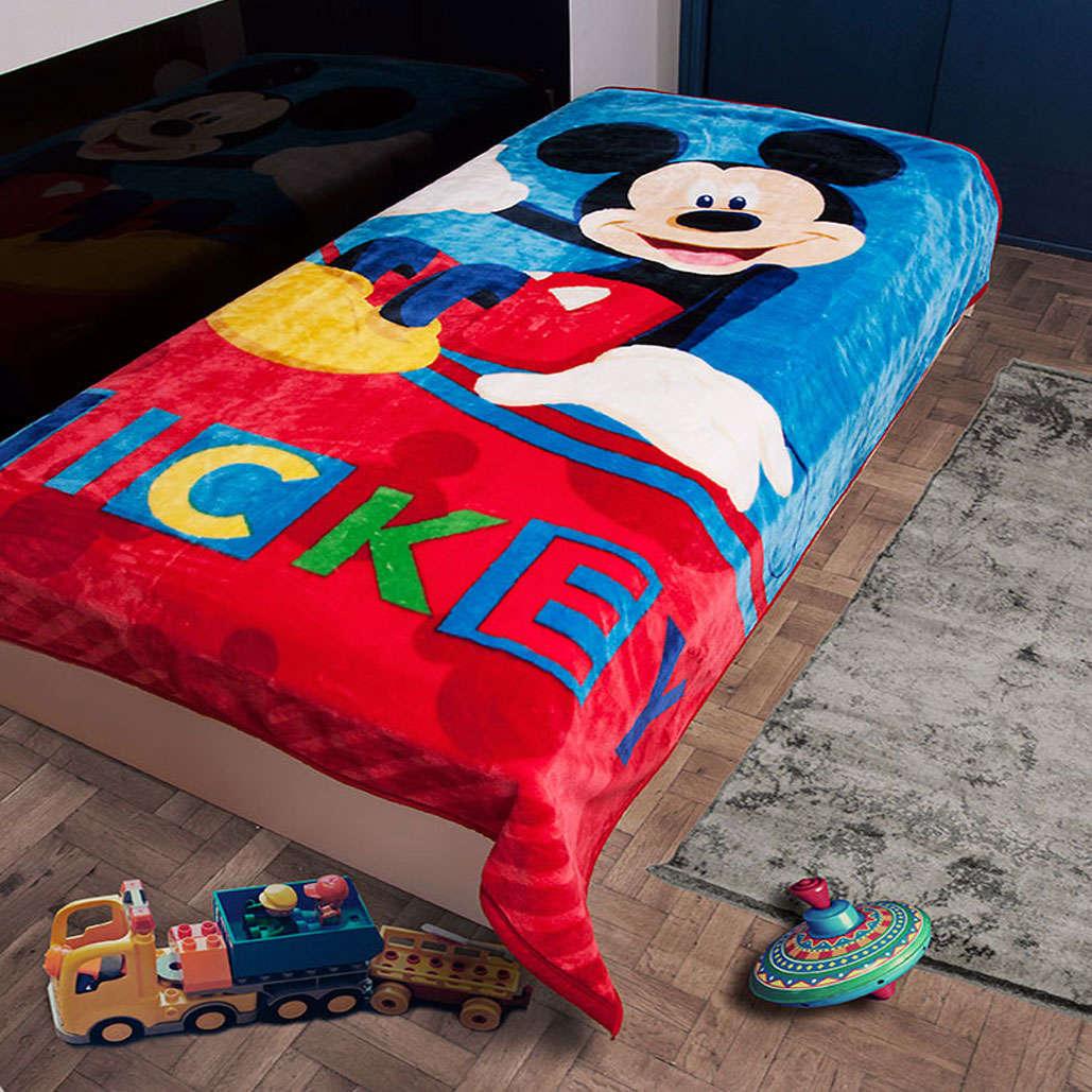 Κουβέρτα Παιδική Mickey 561 Digital Print DimCol Μονό 160x220cm