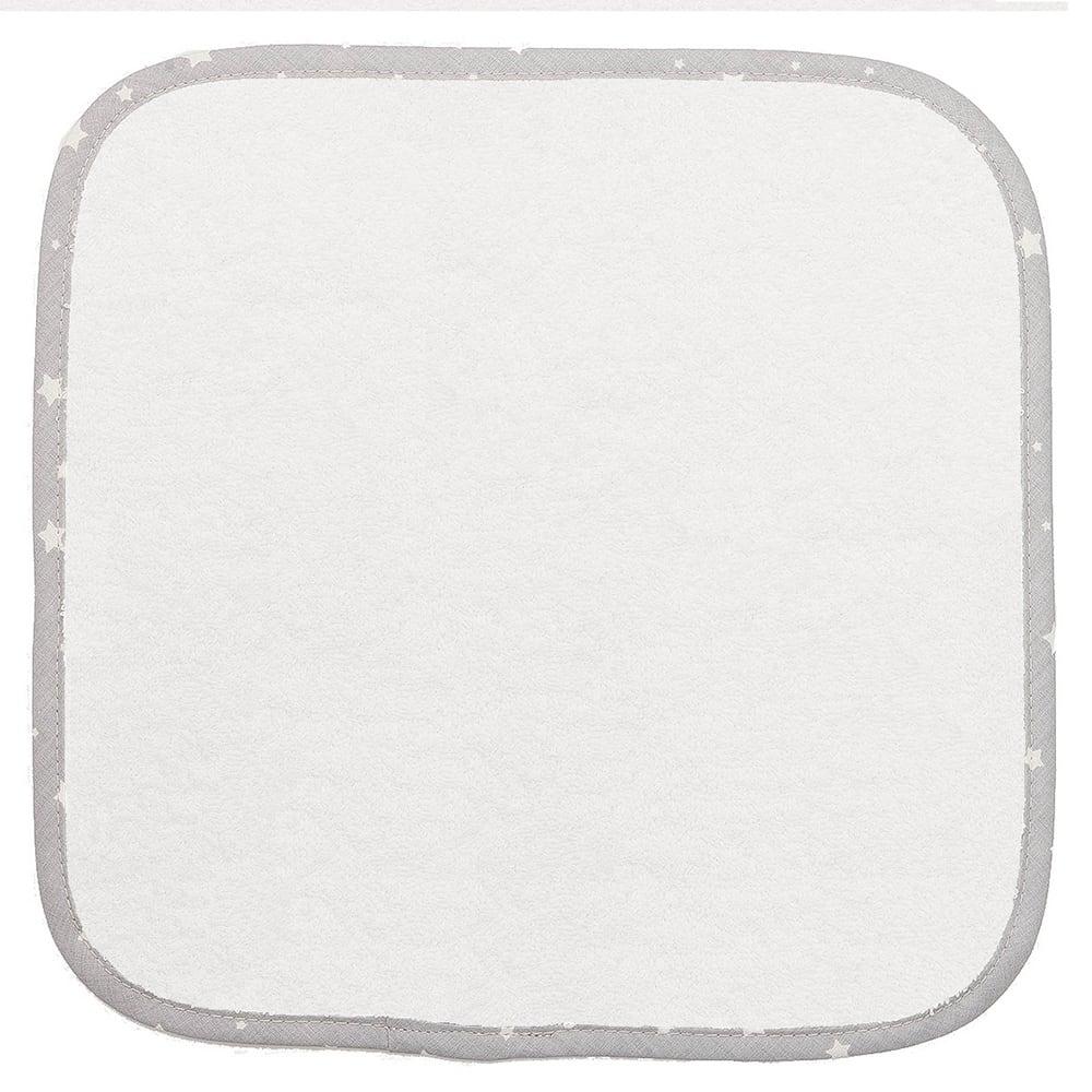 Λαβέτες Ώμου Βρεφικές 05 White-Grey DimCol Σετ Πετσέτες 30x30cm