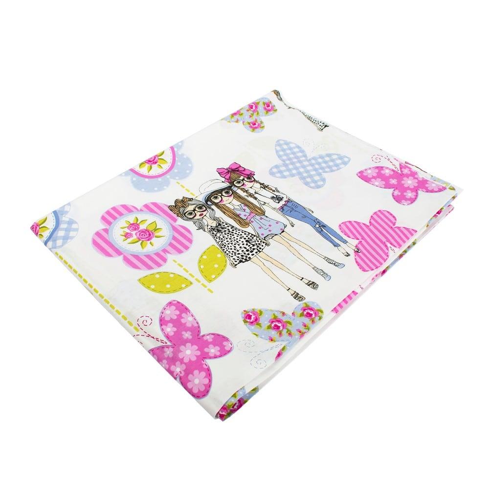 Μαξιλαροθήκη Παιδική Girls 59 Lila DimCol 50Χ70 50x70cm