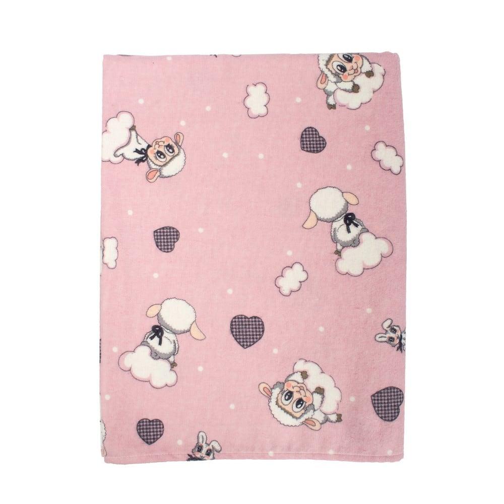 Μαξιλαροθήκη Παιδική Προβατάκι 05 Pink DimCol 30Χ50