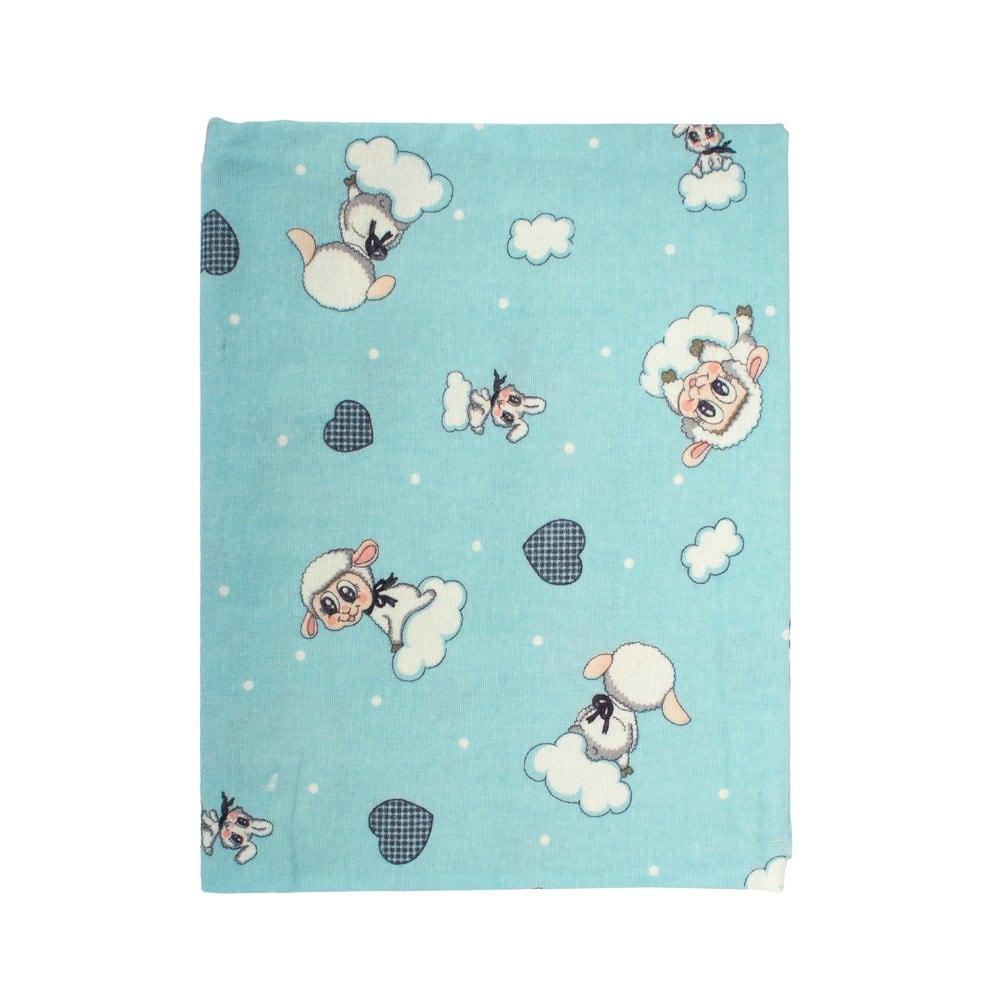 Μαξιλαροθήκη Παιδική Προβατάκι 06 Sky Blue DimCol 30Χ50