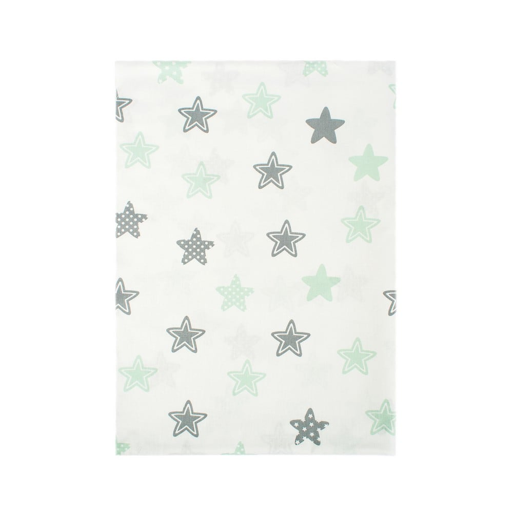 Πάνα Βρεφική Star 101 Green DimCol 80x80cm
