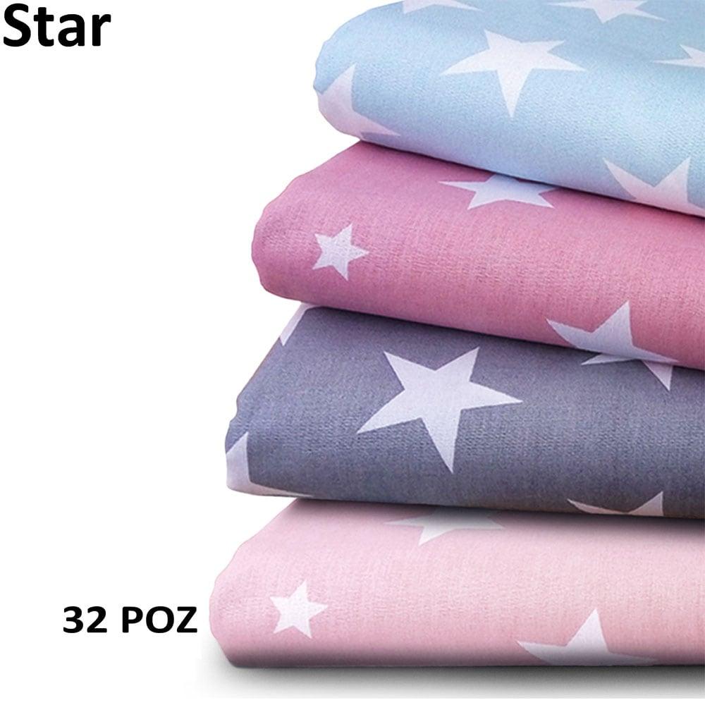 Πάπλωμα Βρεφικό Star 32 Pink DimCol 120x160cm