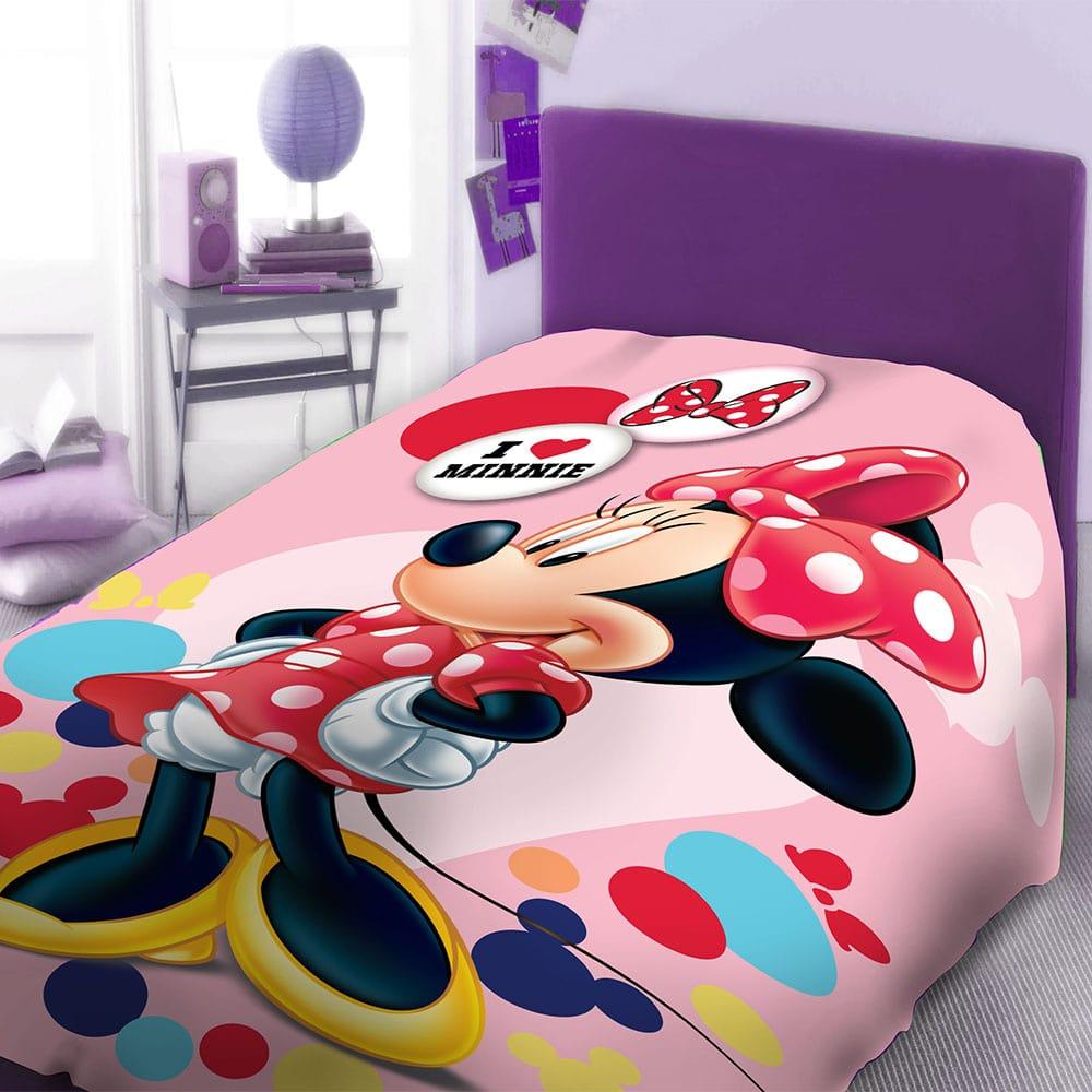 Πάπλωμα Παιδικό Disney Minnie 951 Digital Print DimCol Μονό 160x240cm