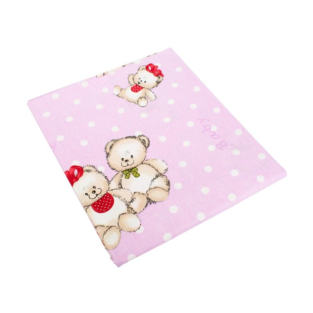 Πάπλωμα Παιδικό Two Lovely Bears 65 Lila DimCol Μονό 160x240cm