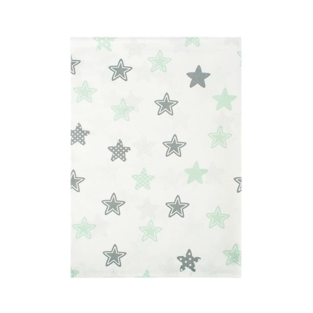 Παπλωματοθήκη Βρεφική Star 101 Green DimCol 120x160cm
