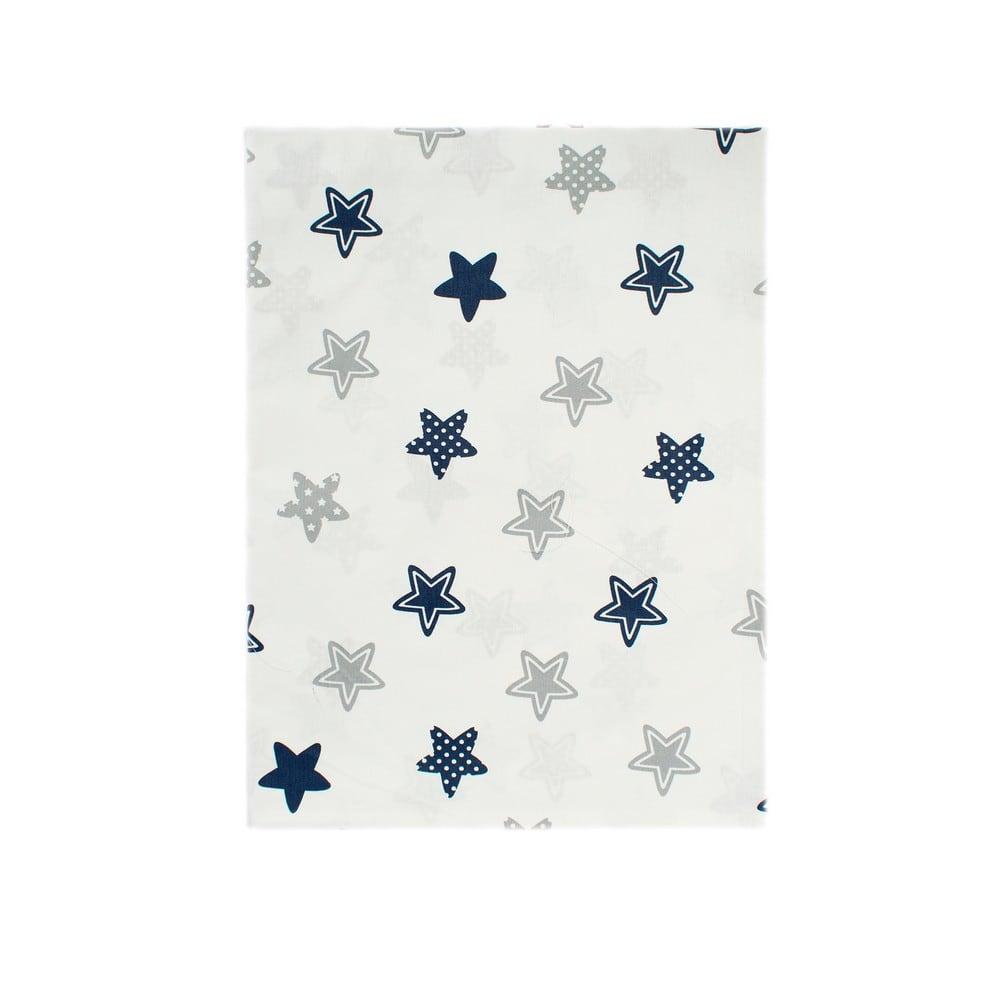 Παπλωματοθήκη Βρεφική Star 102 Blue DimCol 120x160cm