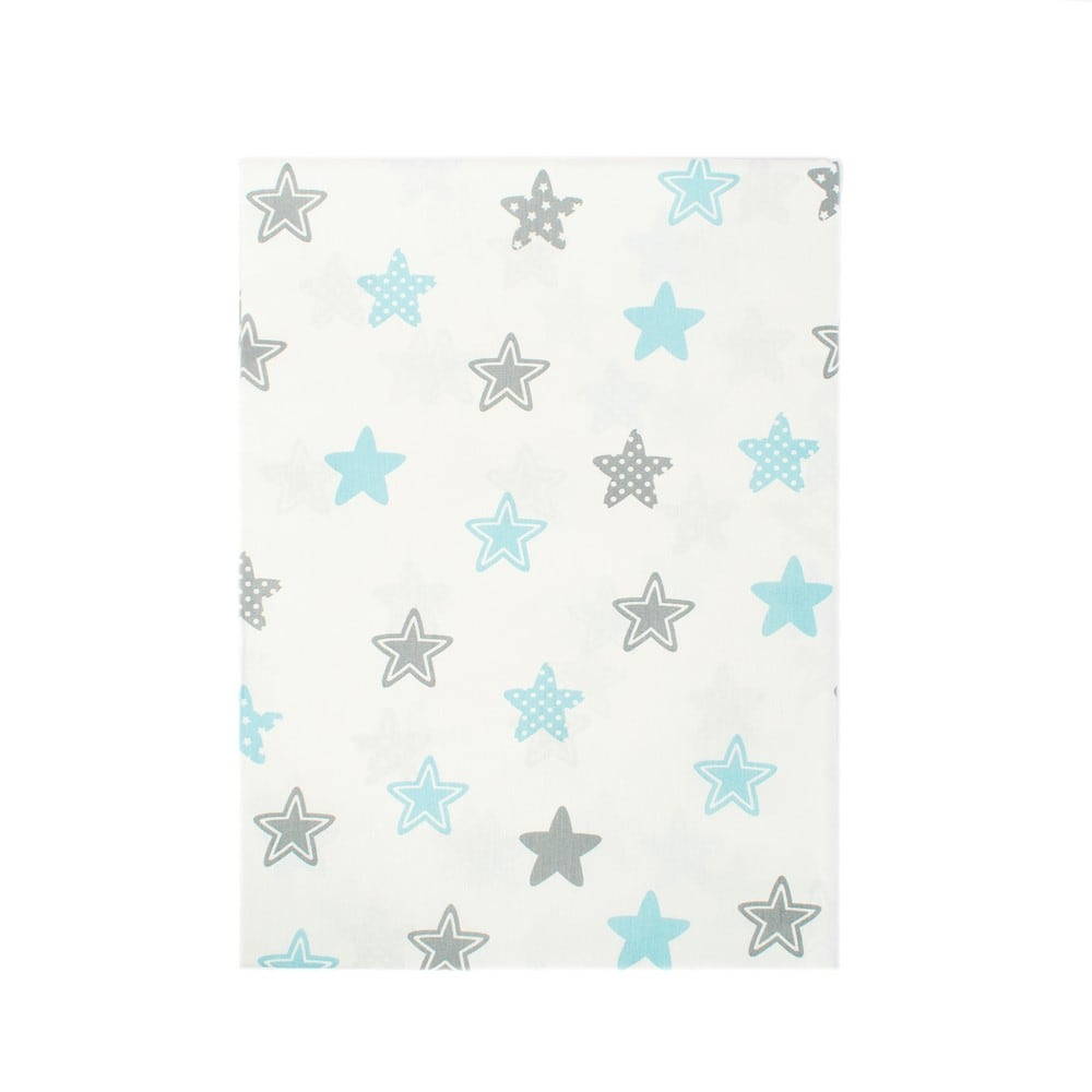Παπλωματοθήκη Παιδική Star 104 Sky blue DimCol Μονό 160x240cm