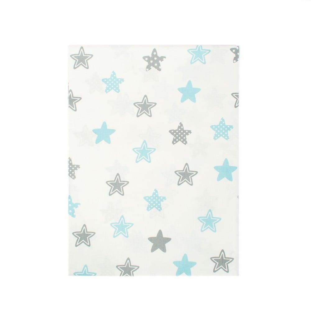 Σεντόνια Παιδικά Σετ 2τμχ Star 104 Sky blue DimCol Μονό 160x240cm