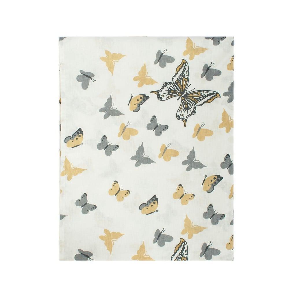 Σεντόνια Παιδικά Σετ 3τμχ Butterfly 55 Beige DimCol Μονό 160x240cm