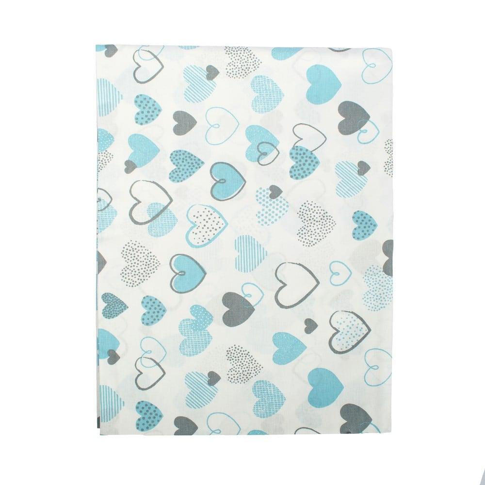 Σεντόνια Παιδικά Σετ 3τμχ Hearts 08 Blue DimCol Μονό 160x240cm