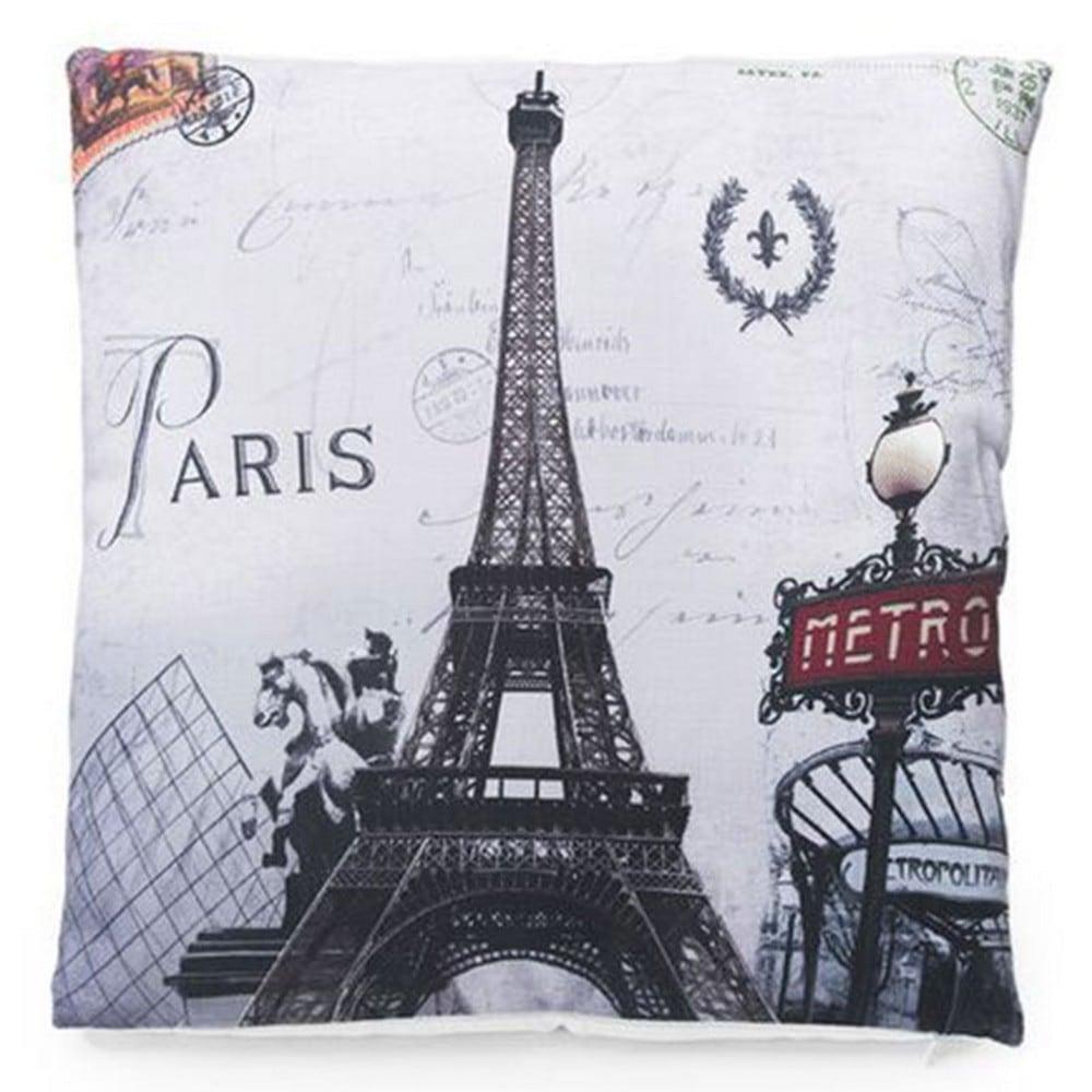 Μαξιλάρι Διακοσμητικό (Με Γέμιση) 718-3028 Paris Metro Artekko 45X45 Ύφασμα