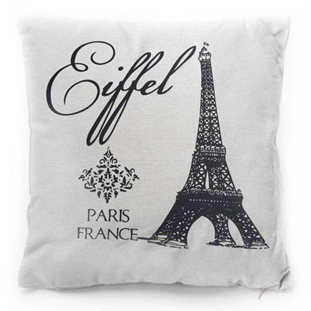 Μαξιλάρι Διακοσμητικό (Με Γέμιση) 718-3016 Paris Love Artekko 45X45 Ύφασμα