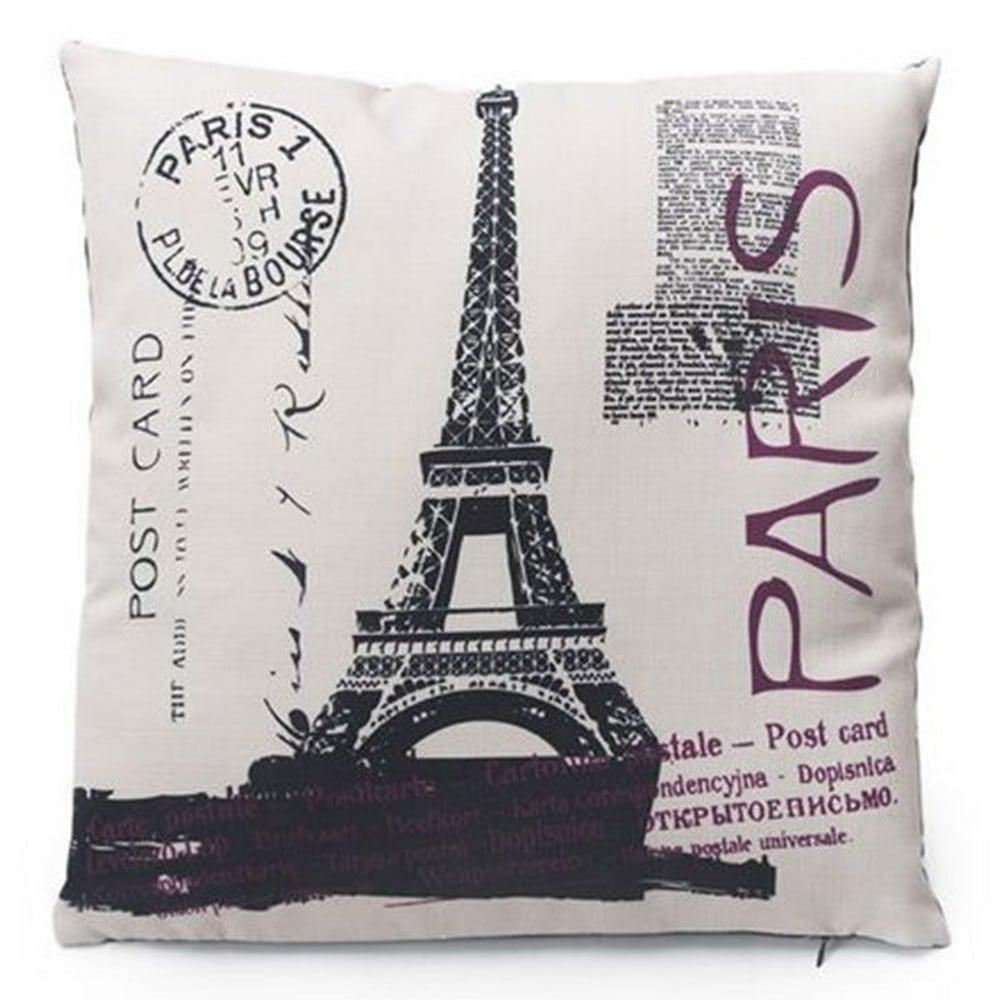 Μαξιλάρι Διακοσμητικό (Με Γέμιση) 718-3026 Paris Post Artekko 45X45 Ύφασμα