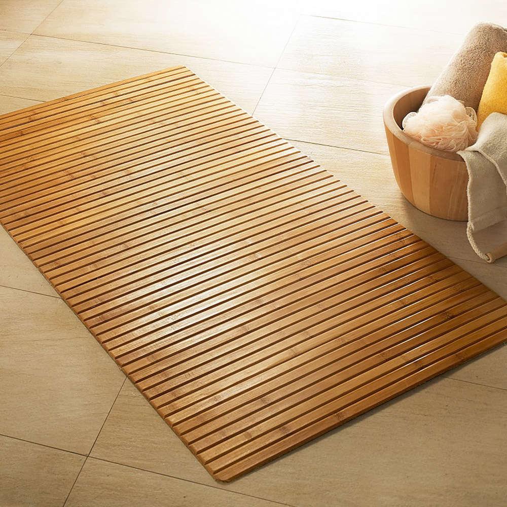 Ταπέτο Μπάνιου Ξύλινο Bambus Texi Medium