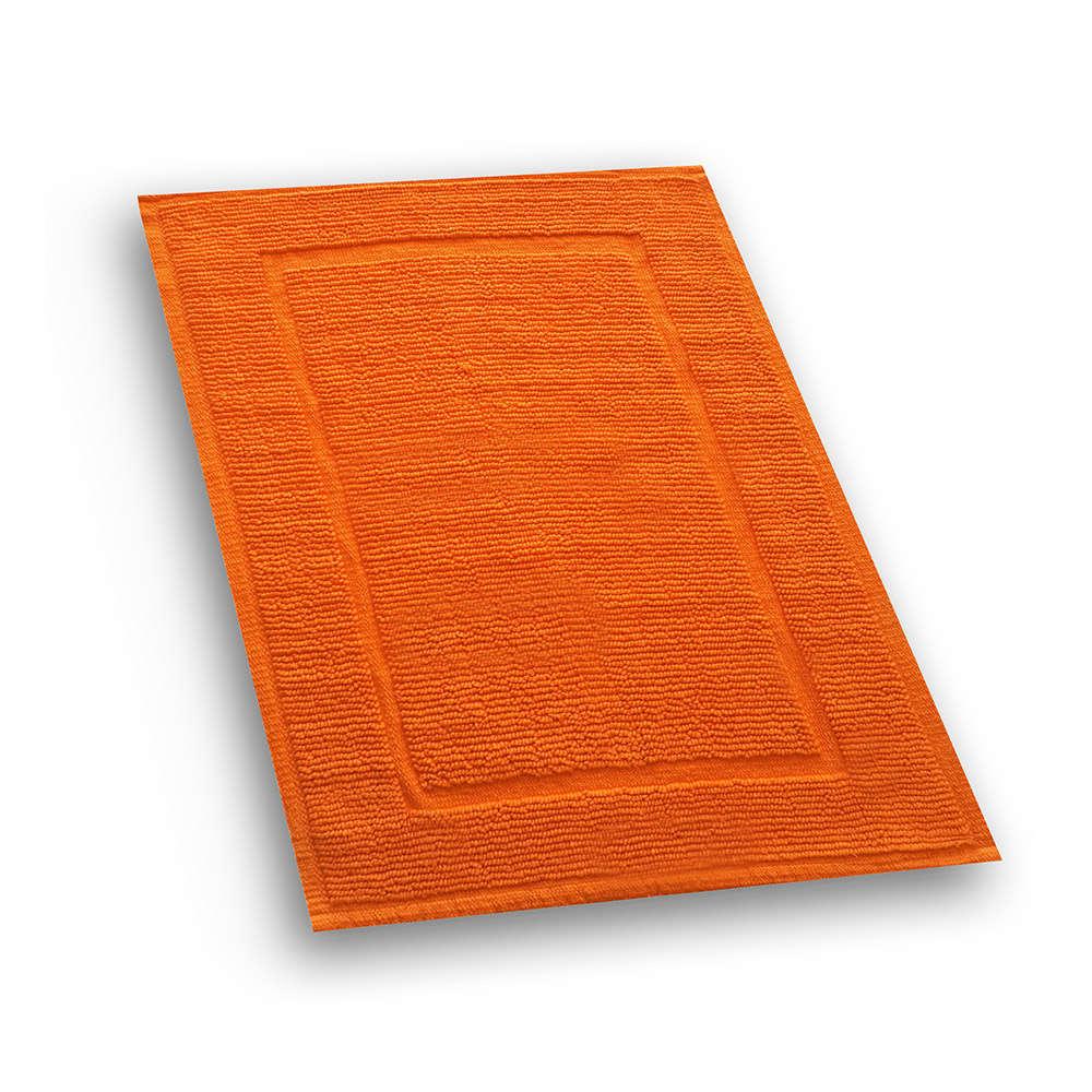 Χαλάκι Μπάνιου Cotton Diva Πορτοκαλί Texi Large