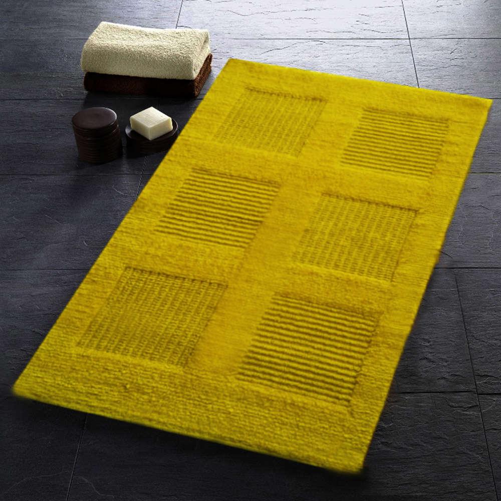 Χαλάκι Μπάνιου Window Κίτρινο Texi Large