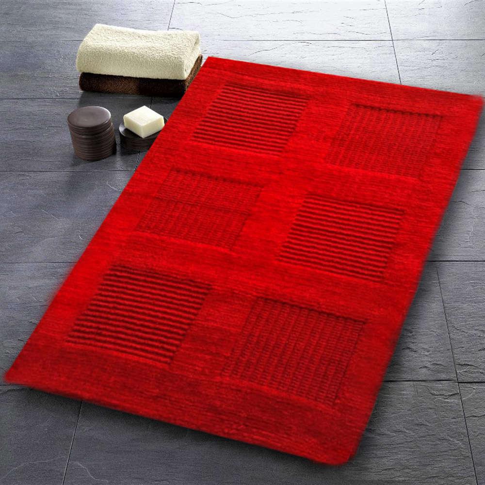 Χαλάκι Μπάνιου Window Κόκκινο Texi Large