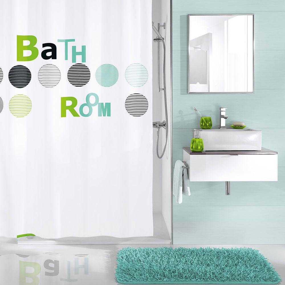 Κουρτίνα Μπάνιου Bathroom 5219 Mint Kleine Wolke Φάρδος 180cm 180x200cm